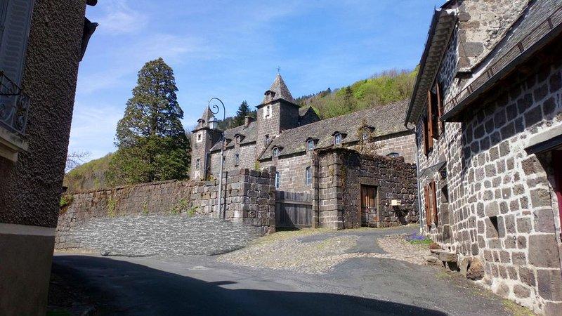 Gîte 50 m² ,  dans un petit bourg de vallée au bord de la rivière l'aspre., aluguéis de temporada em Saint-Bonnet-de-Salers