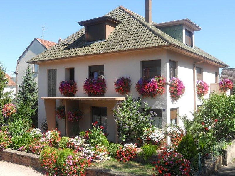 Appartement tout confort dans maison centre Alsace, holiday rental in Chatenois