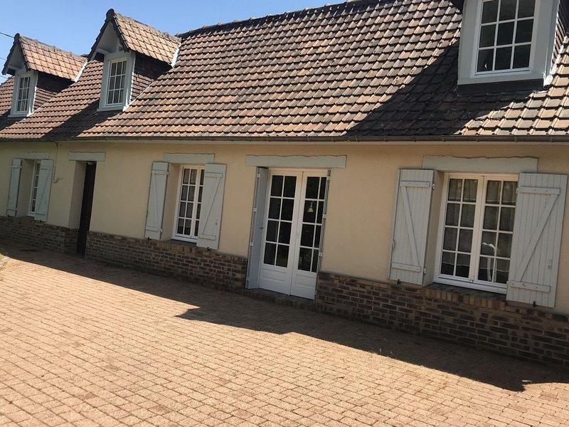 Maison normande Située à Puys, location de vacances à Belleville-sur-Mer