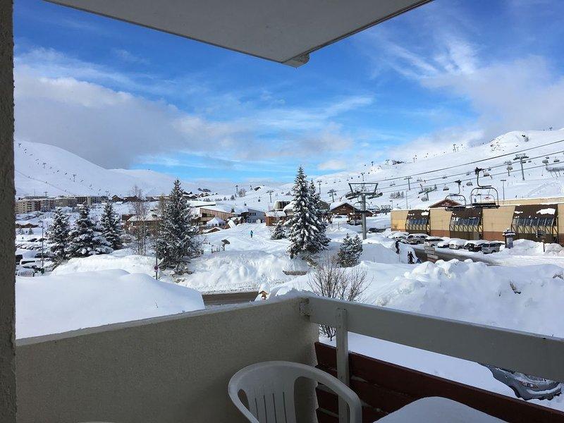 Joli Studio aux pieds des pistes, vacation rental in L'Alpe-d'Huez