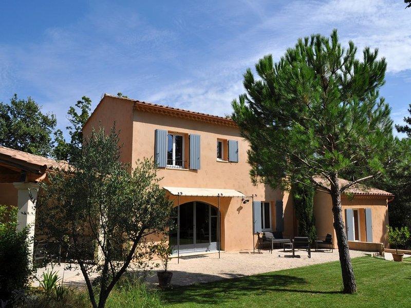 2 MAISONS  Grand jardin-Piscine -Jacuzzi -10 PERSONNES, holiday rental in Saint-Laurent-La-Vernede