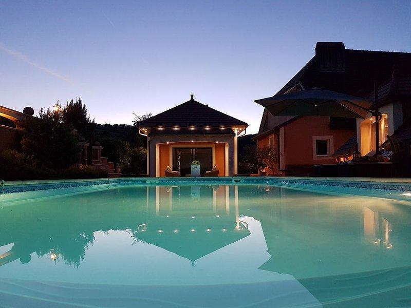 SUITE D'HIVER AVEC ACCES ESPACE SPA ENTIEREMENT PRIVATISE, holiday rental in Dole