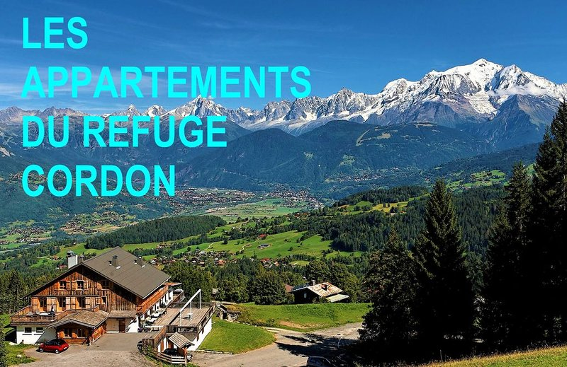 3* Appartement ''Mont Blanc'' ,125m²,  sur les pistes, 8 à 10 pers, location de vacances à Cordon