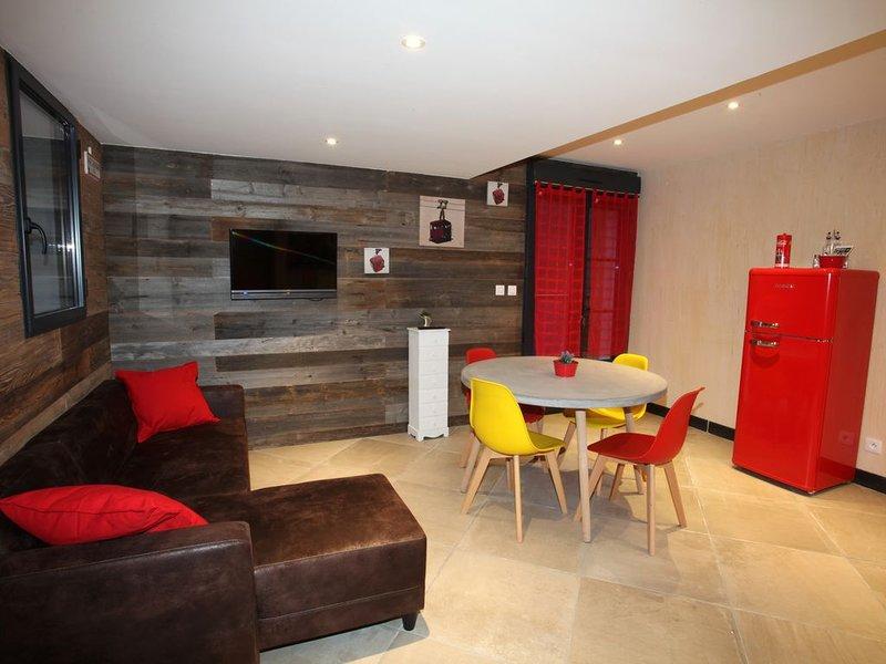 Cocooning à la montagne - L'Isard Blanc 3, holiday rental in Viscos