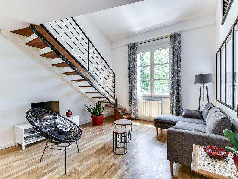 MONTPELLIER CENTRE DUPLEX STYLE LOFT Prévisualiser l'annonce, vacation rental in Montpellier