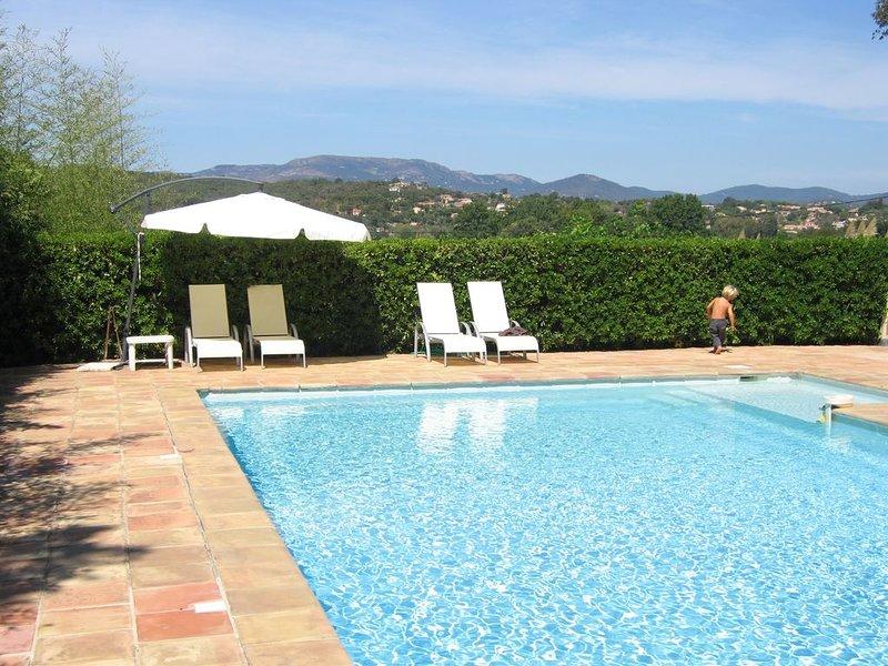 Gîtes dans le golfe de StTropez, vacation rental in Cogolin