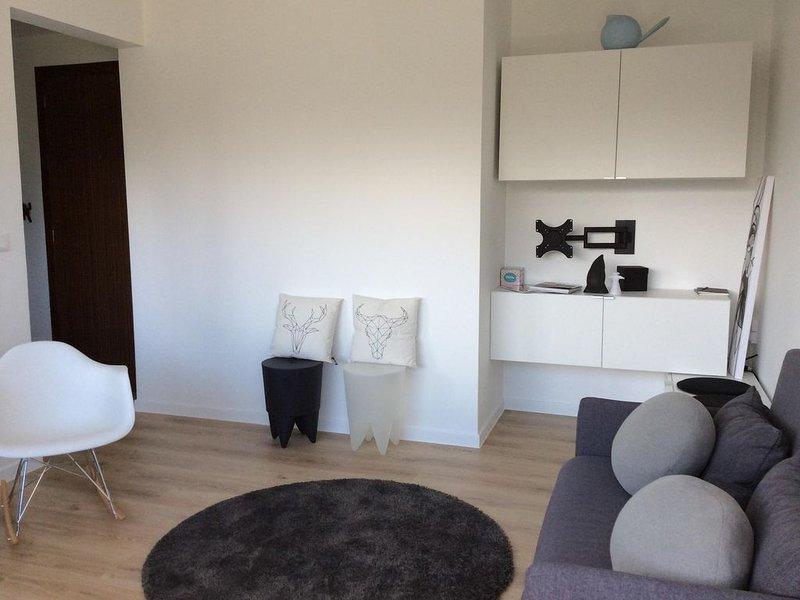 Logement cosy design face aux Thermes, proche centre ville, vacation rental in Thonon-les-Bains