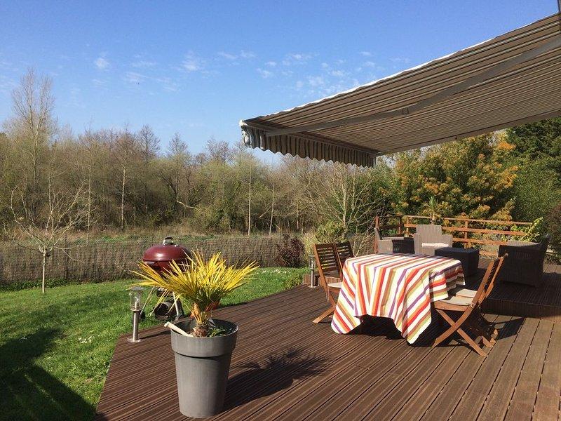 Maison entre terre et mer, holiday rental in Champeaux