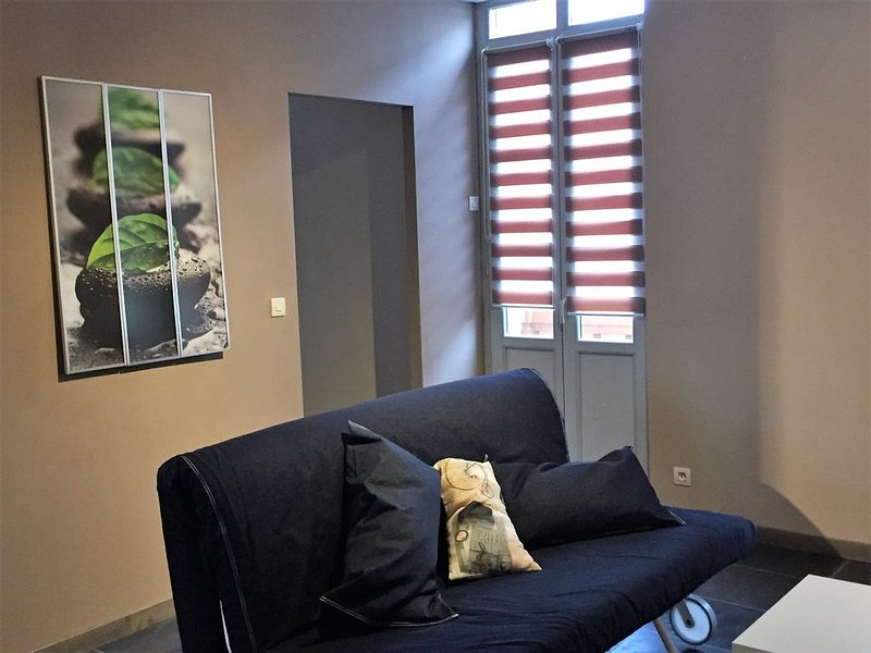 Appartement T2 TARBES proche gare et centre AVEC TERRASSE, holiday rental in Tarbes