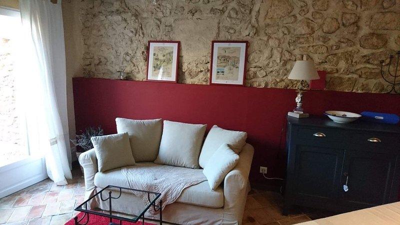 Maisonnette avec terrasse dans village provençal – semesterbostad i Porquerolles Island