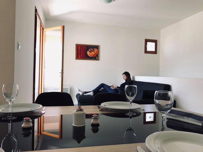 La Tour du Guet 1 - Appartement 3 chambres vue Panoramique, vacation rental in Sault