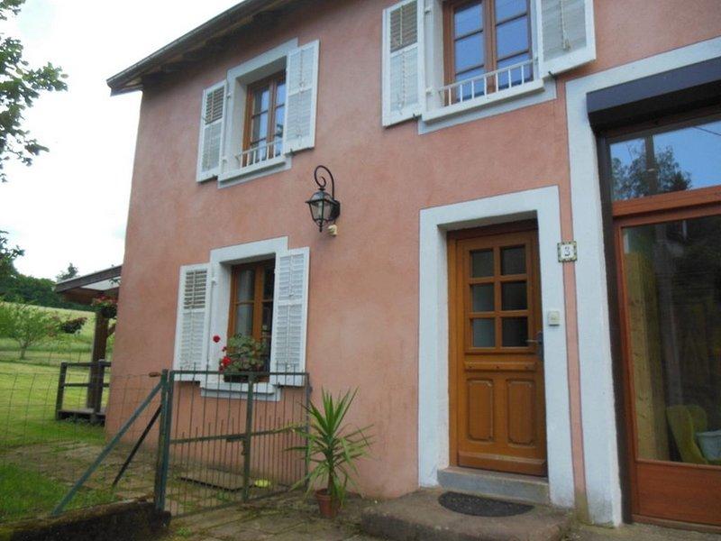 Gîte de LA PARRIERE situé dans les Vosges, Pays des Abbayes, holiday rental in Badonviller