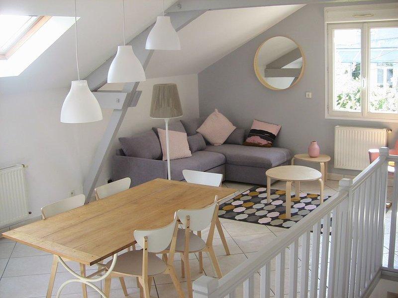 L'IMPRIMERIE : Calme et confort au cœur de Tours, location de vacances à Joué lès Tours