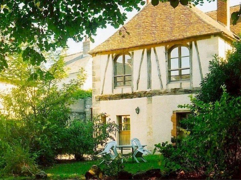 Les écuries du signe, parc ombragé face au chateau d'Amboise, location de vacances à Pocé-sur-Cisse