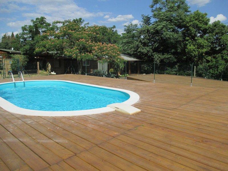 Maison climat avec piscine privée au pied des Albéres, à prox de la mer, holiday rental in Saint-Andre