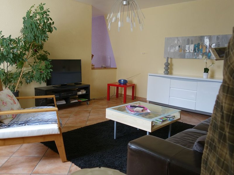 Duplex confortable en campagne, aluguéis de temporada em Saint-Maurice-sous-les-Cotes