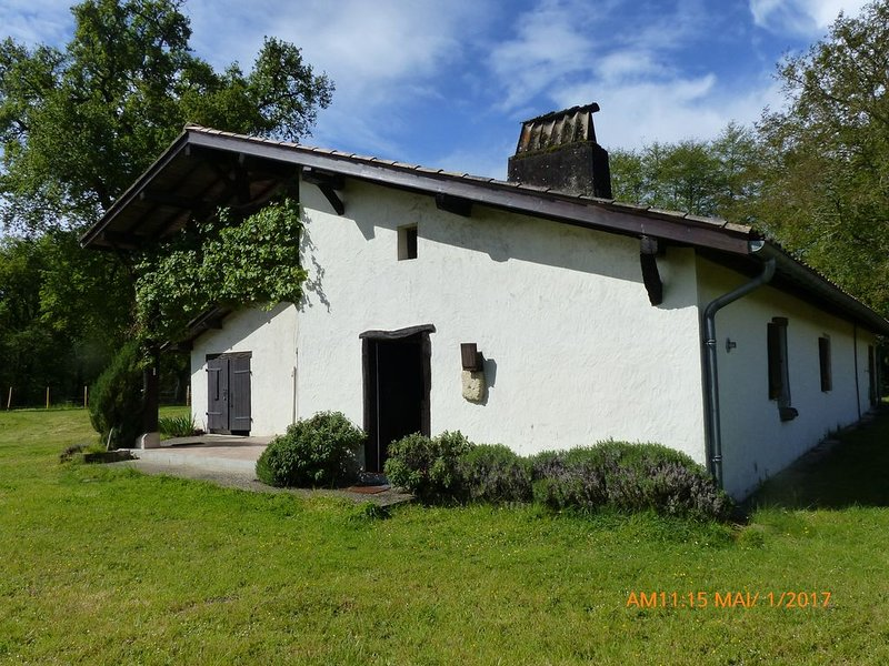 Grande Maison landaise de charme située en Sud Gironde : 9 couchages, holiday rental in Callen