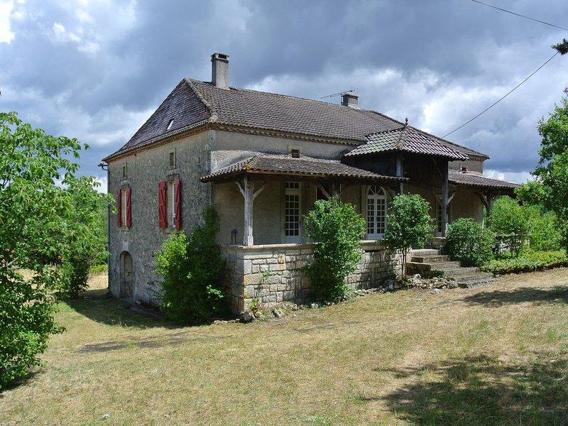 Vallée du Lot - Belle demeure ancienne, location de vacances à Thézac