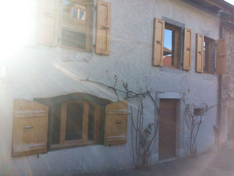 Appartement à 200m du lac, au cœur vieux village de Duingt, holiday rental in Duingt