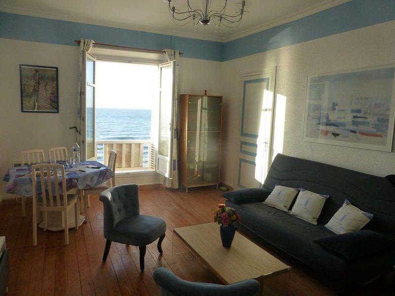 appartement en normandie / Calvados sur mer, holiday rental in Auberville