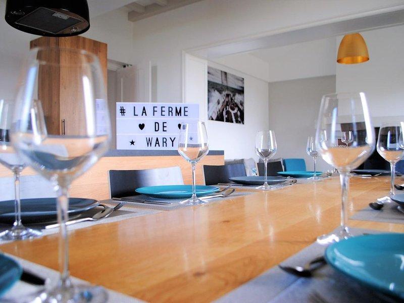 La Ferme de Wary by HOTTE SCHMIT, casa vacanza a Rethel