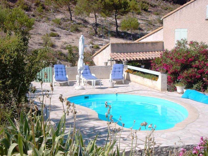 Haut de villa sur la côte bleue, vacation rental in Marignane