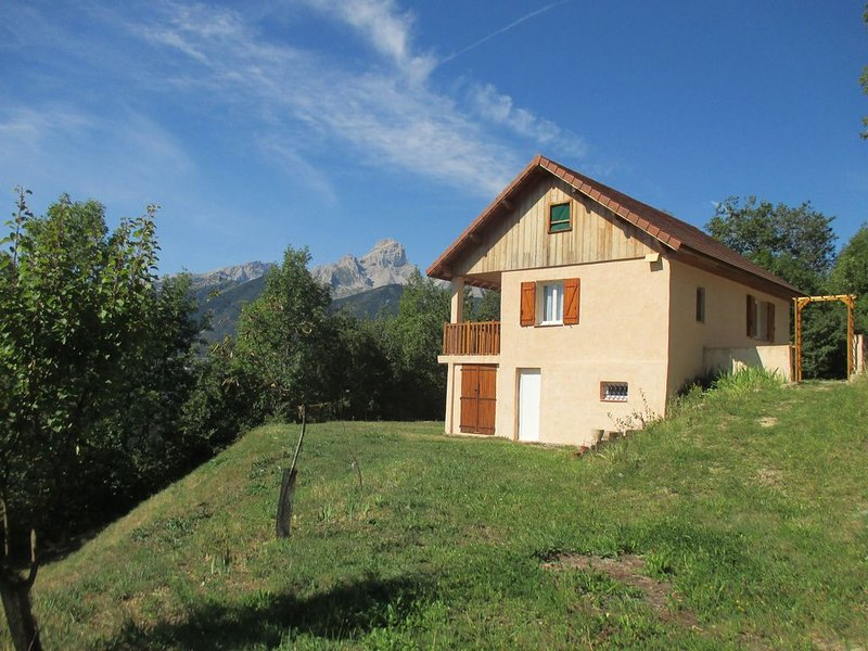 Maison de vacances - lac du Sautet - proximité du parc des Ecrins, alquiler vacacional en Mens