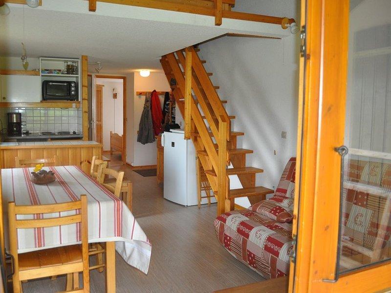 Bel appartement pour 8 personnes au pied des pistes de Montalbert/ La Plagne, alquiler vacacional en Montalbert