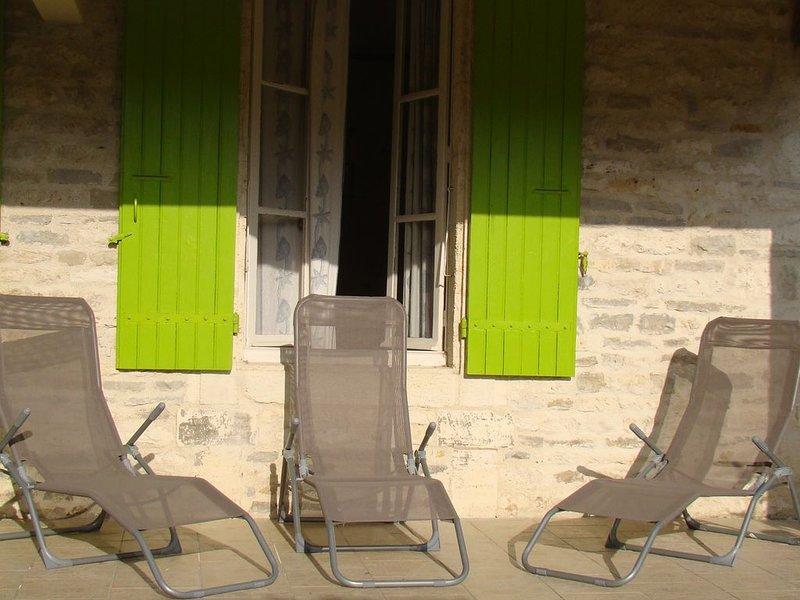 MAISON INDIVIDUELLE cloturer silencieuse, aluguéis de temporada em Dolus-d'Oleron