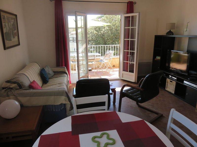 Très bel appartement T2 de 65 m2 avec terrasse vue sur port., vacation rental in Saint-Mandrier-sur-Mer