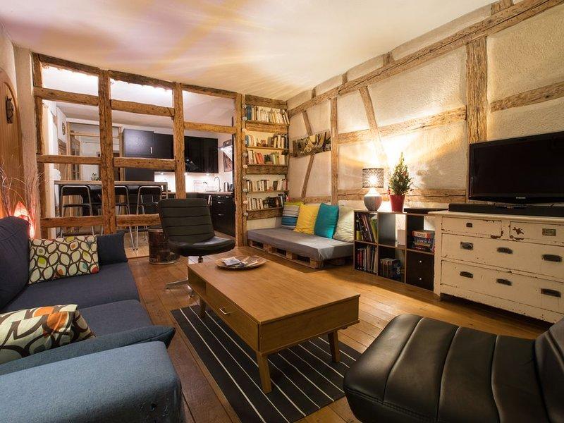 Le Nid Douillet, meublé de tourisme classé 3 étoiles, alquiler vacacional en Colmar