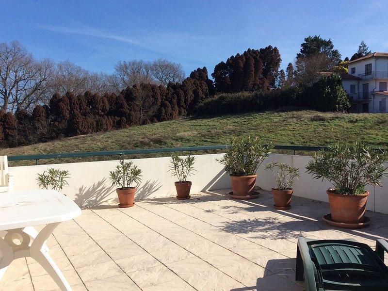 T3 Ciboure terrasse 45m2, location de vacances à Ciboure