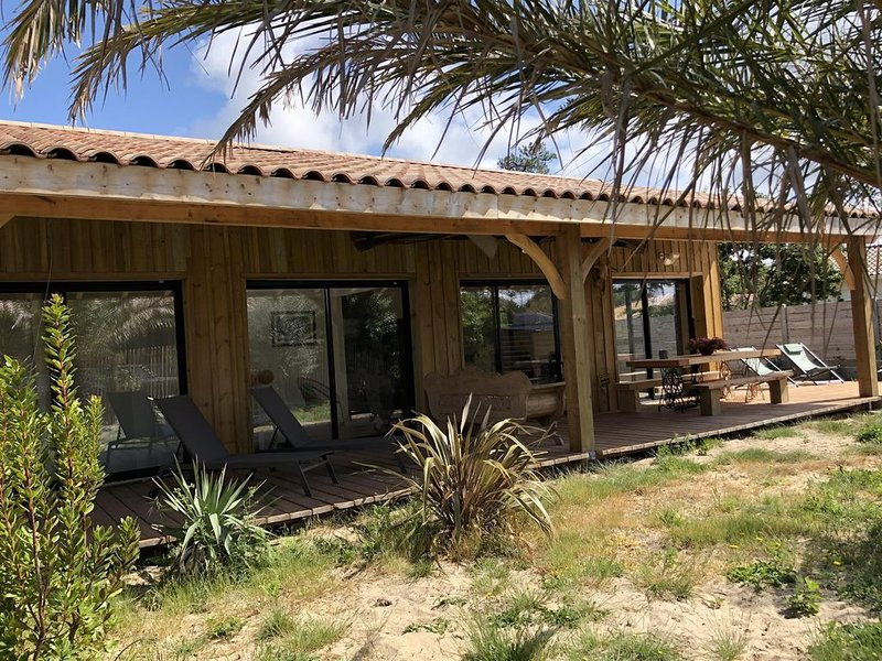 Villa entre pins et oceans 2, alquiler de vacaciones en Montalivet