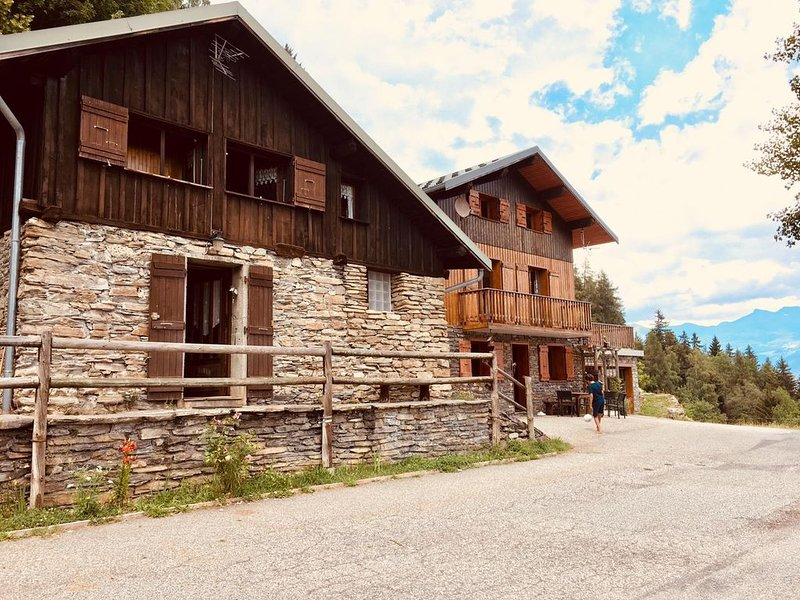 Chalet  (2-4 pers)- Domaine Skiable Valmorel-Doucy, holiday rental in Doucy