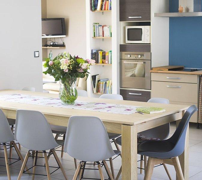 Gîte moderne  entre Loire et forêt de Sologne, pour des retrouvailles en famille, holiday rental in Saint-Hilaire-Saint-Mesmin