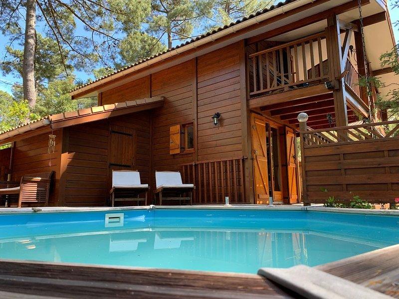 Maison entre lac et océan à Carcans-Maubuisson, vacation rental in Carcans