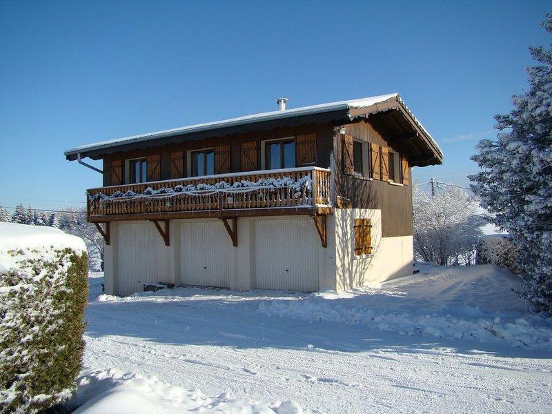 Chalet , au coeur du plus haut village des Vosges : LE HAUT DU TOT, location de vacances à Rochesson