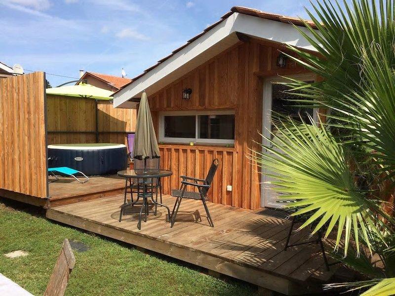 La Petite Maison des Huttiers 'Bassin d Arcachon', holiday rental in Audenge