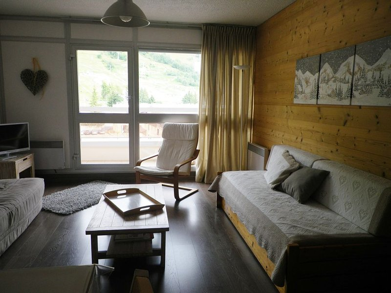 Location Appartement Les 2 Alpes plein centre, alquiler vacacional en Mont-de-Lans