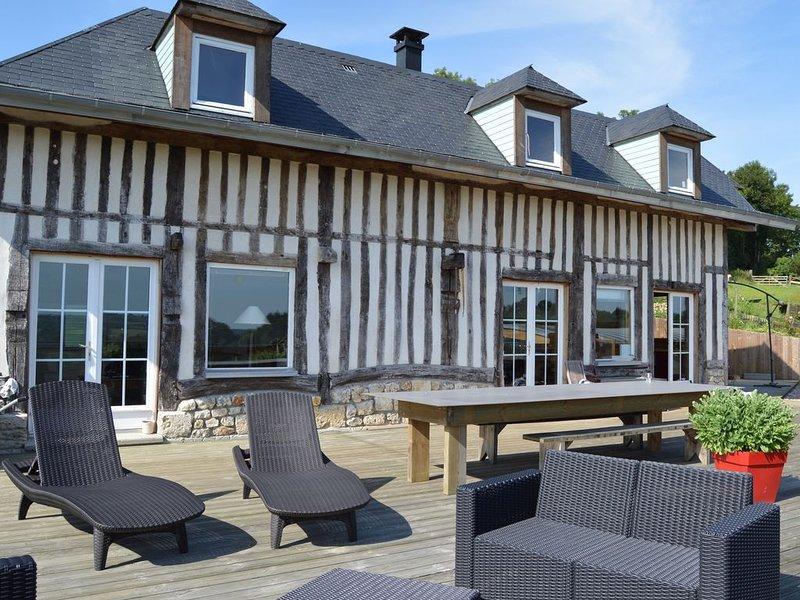 Charmante Maison Normande, holiday rental in Bonneville-la-Louvet