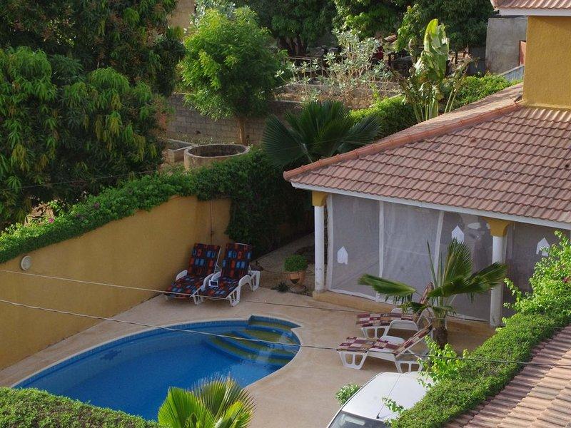Belle Villa indépendante avec piscine  à N'GAPAROU SALY PETITE COTE, alquiler vacacional en Senegal