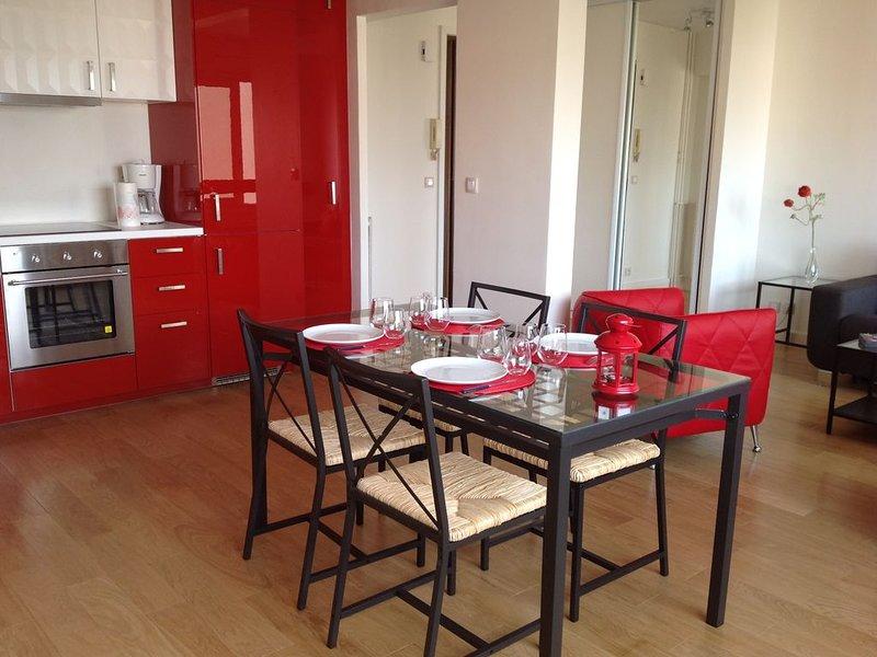 Bel Appartement T2 50 M² Croix Rousse, vacation rental in Couzon-au-Mont-d'Or