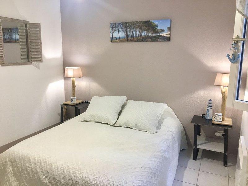 Appartement tout confort dans Résidence calme avec piscine Bassin d'Arcachon, aluguéis de temporada em Le Teich