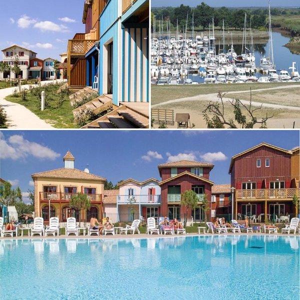 Appartement tout confort dans Résidence calme avec piscine Bassin d'Arcachon, vacation rental in Le Teich