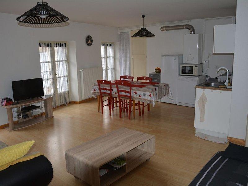 Appartement meublé entièrement rénové en centre ville du Puy  avec wifi, alquiler vacacional en Espaly-Saint-Marcel