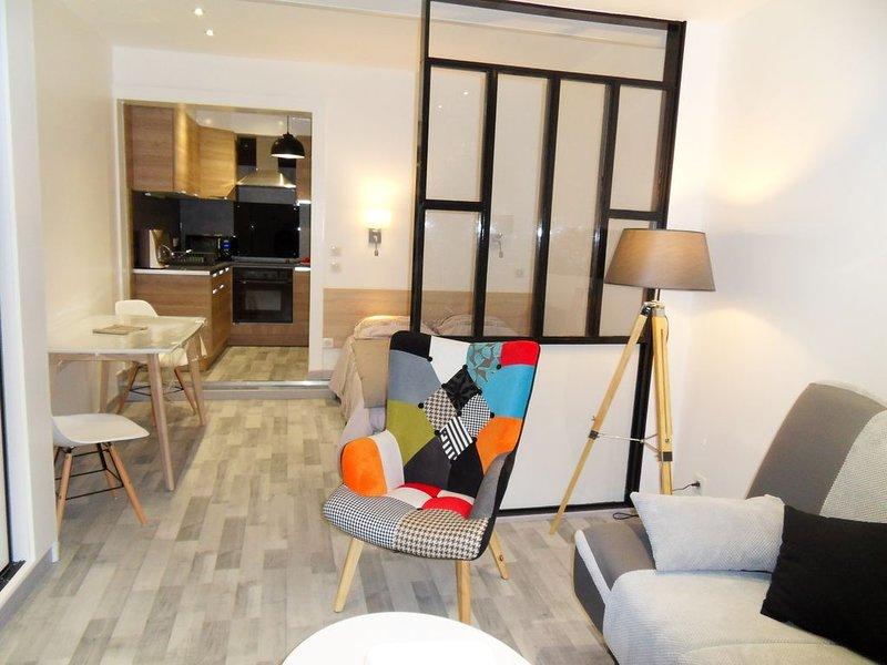 studio confortable et sympa centre ville d'Argeles-Gazost 65400, holiday rental in Aucun