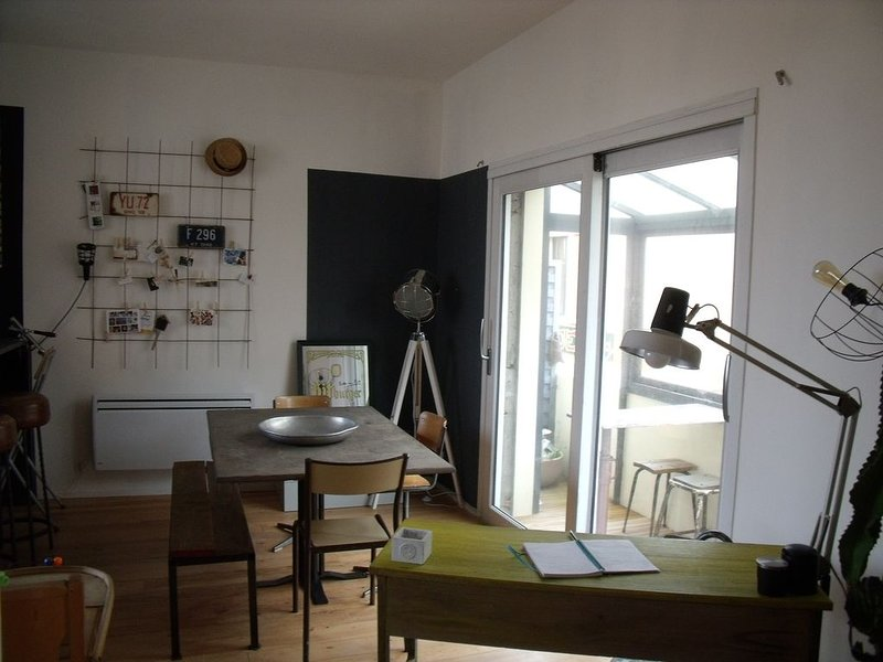 Loft au cœur de la station, aluguéis de temporada em Le Verdon Sur Mer