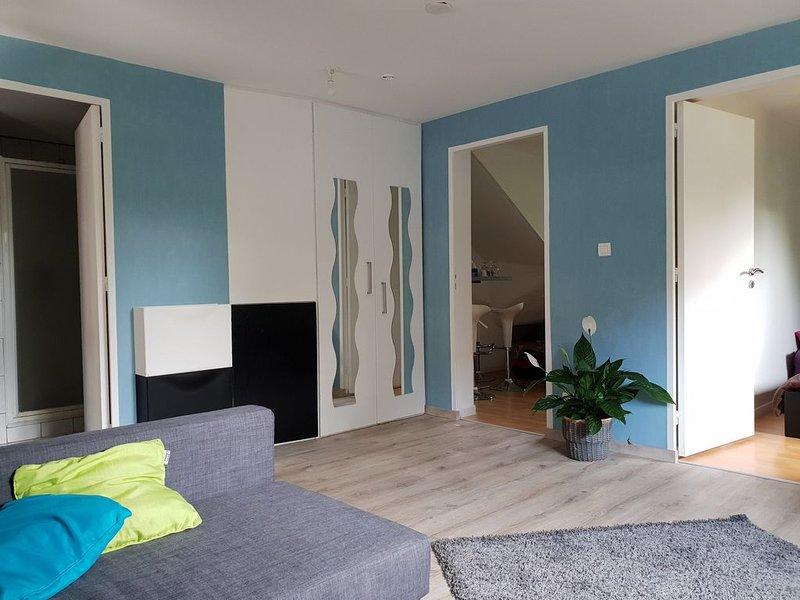 Appartement refait à neuf dans cadre bucolique avec jardin, holiday rental in Plobsheim
