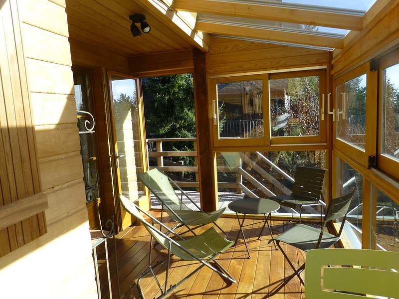 Grand chalet haut de station, holiday rental in Besse-et-Saint-Anastaise