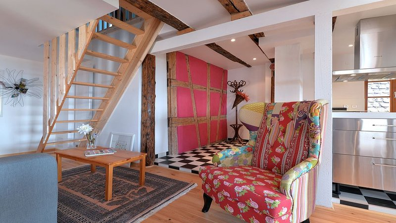 Gîte de charme dans le vignoble à 10 min de Colmar, vacation rental in Soultzmatt